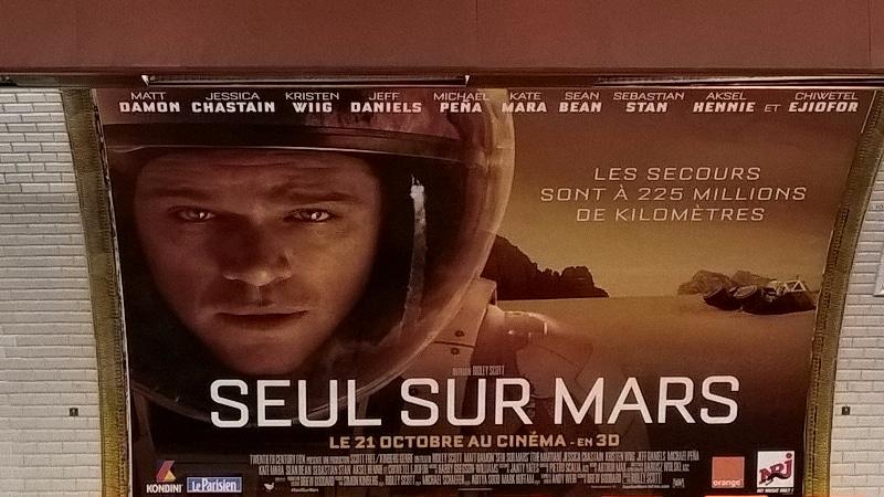 Seul sur Mars métro